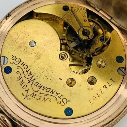 New York Standard Watch Co. Grade 60 Pocket Watch Image