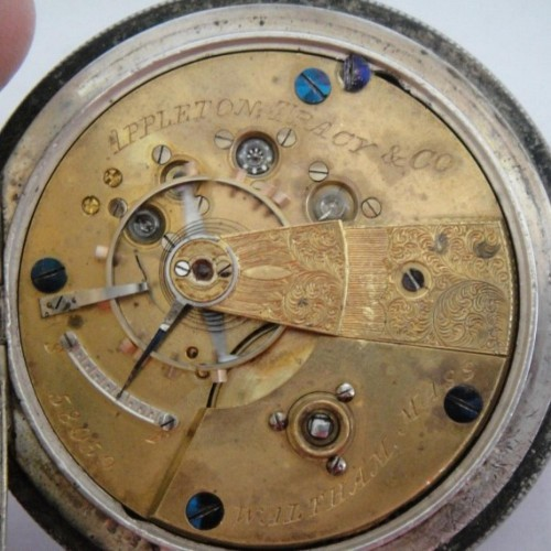 Waltham Grade A.T. & Co. Pocket Watch Image