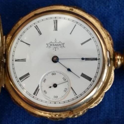 Elgin Grade 219 Pocket Watch Image