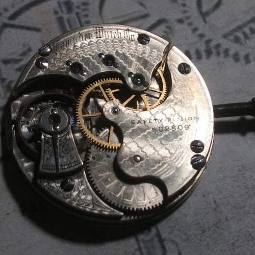 Hampden Grade No. 211 Pocket Watch Image