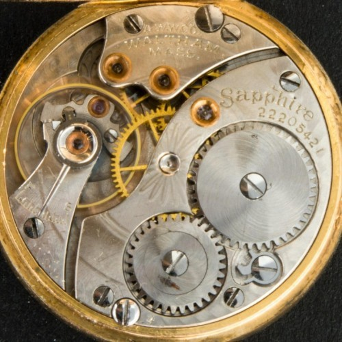 Waltham Grade Sapphire Pocket Watch Image