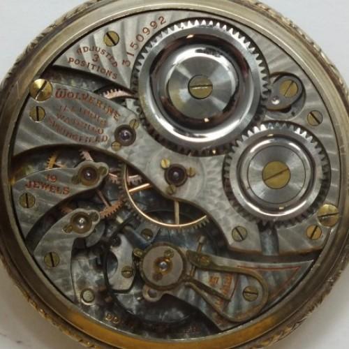 Illinois Grade 406 Pocket Watch Image