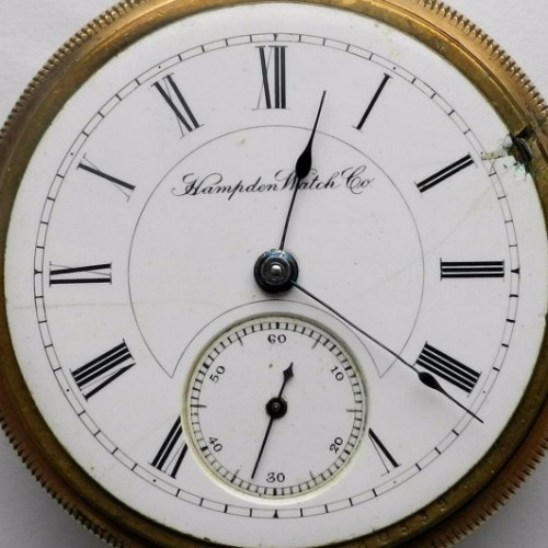 Hampden Grade No. 56 Pocket Watch Image