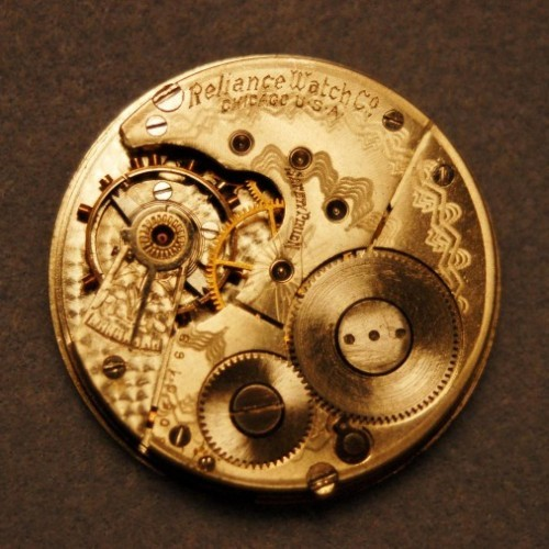 Reliance Watch Co. Grade Reliance Pocket Watch Image
