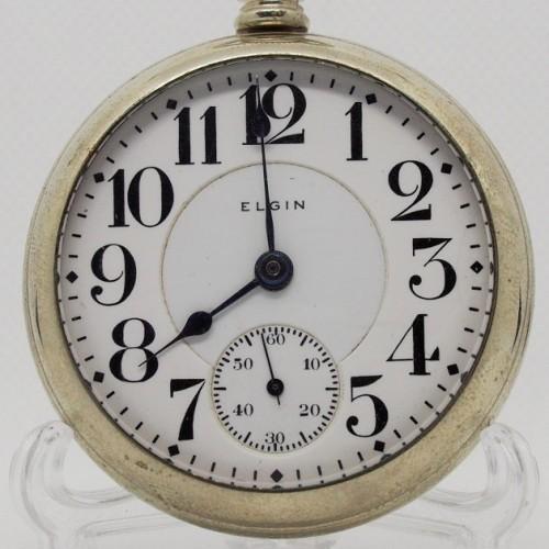 Elgin Grade 214 Pocket Watch Image