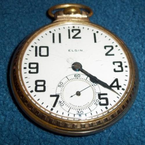 Elgin Grade 472 Pocket Watch Image