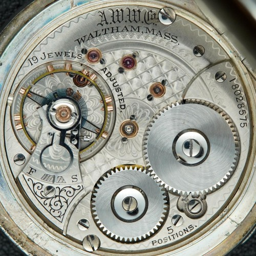 Waltham Grade Astronomical Sidereal Pocket Watch Image