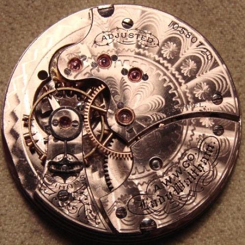 Waltham Grade Lady Waltham Pocket Watch Image