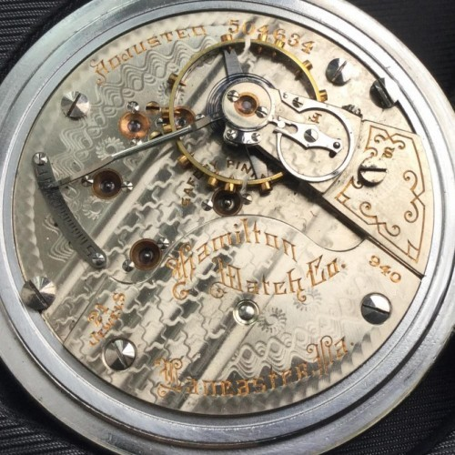 Image of Hamilton 940 #504634 Movement