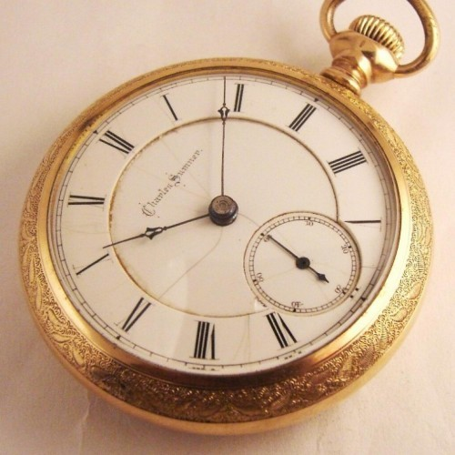 Illinois Grade 103 Pocket Watch Image