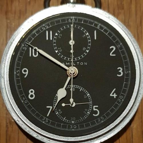 Hamilton Grade Model 23 Pocket Watch Image