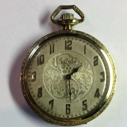 Waltham Grade Riverside Maximus Pocket Watch Image