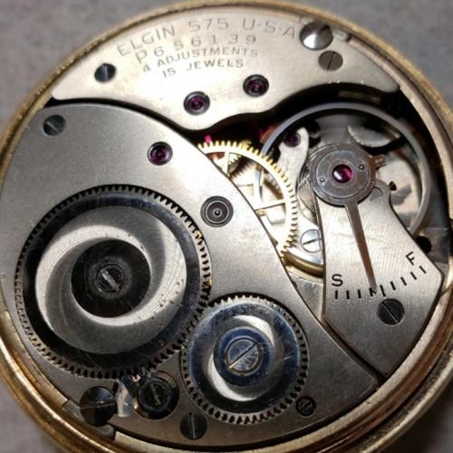 Elgin Grade 575 Pocket Watch