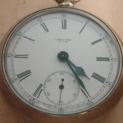 Seth Thomas Grade Century Pocket Watch Image