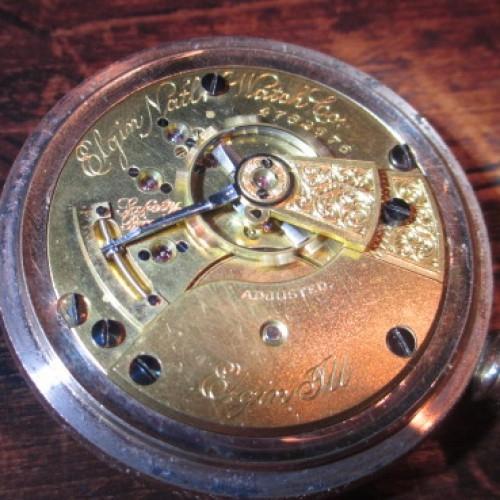 Elgin Grade 123 Pocket Watch Image