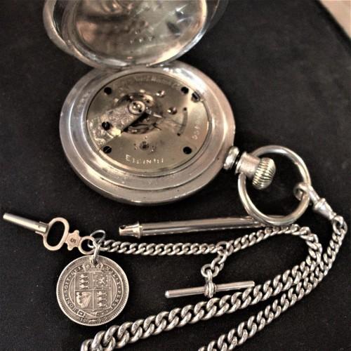 Elgin Grade 13 Pocket Watch Image
