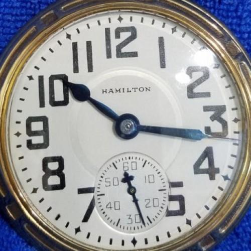 Hamilton Grade 978 Pocket Watch