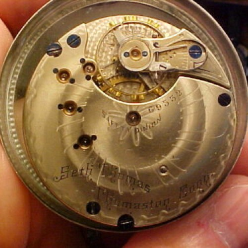 Seth Thomas Grade 179 Pocket Watch Image