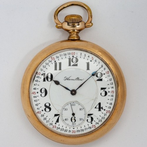 Hamilton Grade 978 Pocket Watch Image