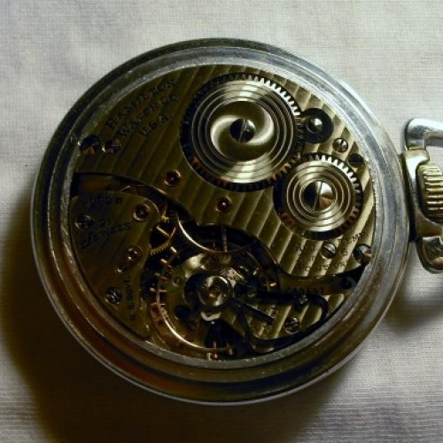 Image of Hamilton 992B #C80137 Movement