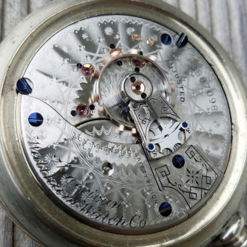 Waltham Grade No. 35 Pocket Watch Image