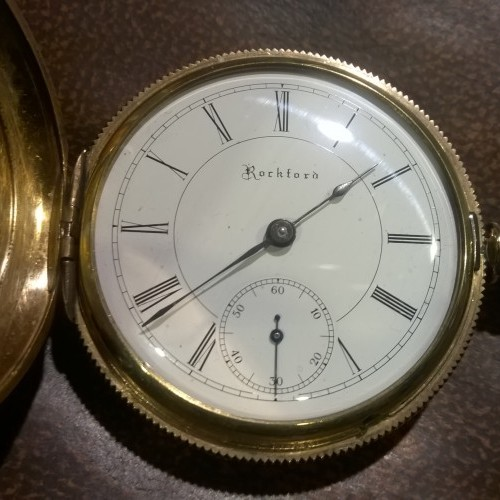 Rockford Grade 84 Pocket Watch Image