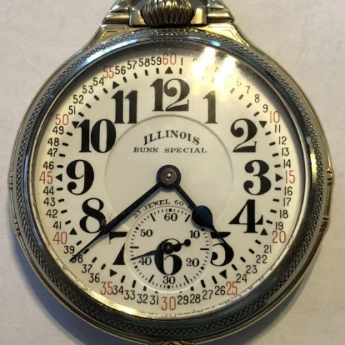 Illinois Grade 163A Pocket Watch Image