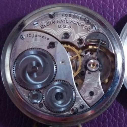 Elgin Grade 315 Pocket Watch Image