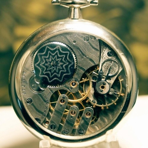 Illinois Grade 184 Pocket Watch Image