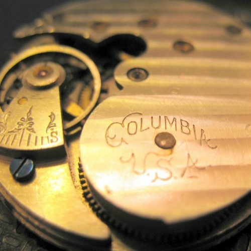 Columbia Watch Co. Grade  Pocket Watch Image