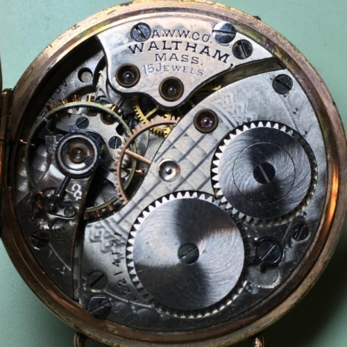 Waltham Grade No. 166 Pocket Watch Image