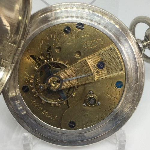 U.S. Watch Co. (Marion, NJ) Grade G.A. Read Pocket Watch Image