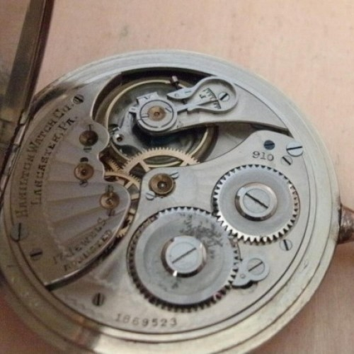 Hamilton Grade 910 Pocket Watch Image