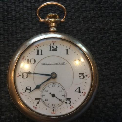 Hampden Grade Dueber Grand Pocket Watch Image