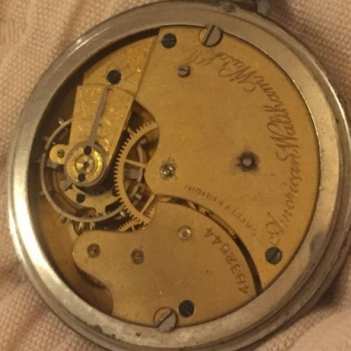 Waltham Grade No. 8 Pocket Watch Image