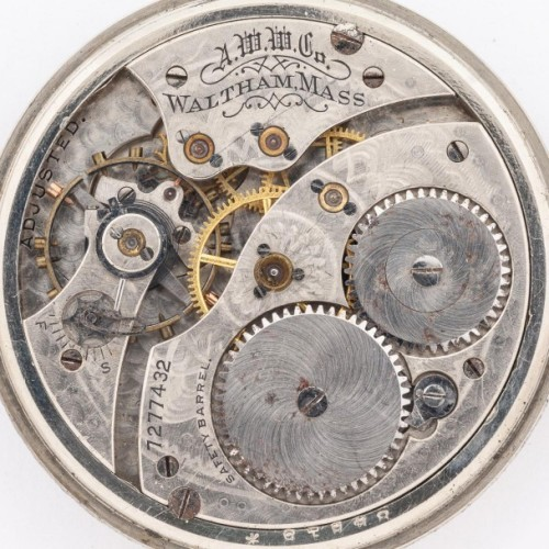 Waltham Grade No. 240 Pocket Watch Image