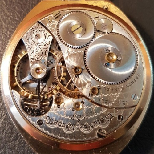 Elgin Grade 191 Pocket Watch Image