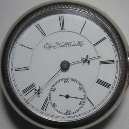 Elgin Grade 27 Pocket Watch Image