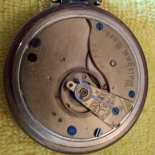 U.S. Watch Co. (Waltham, Mass) Grade 48 Pocket Watch Image