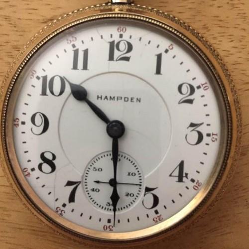 Hampden Grade John Hancock Pocket Watch Image