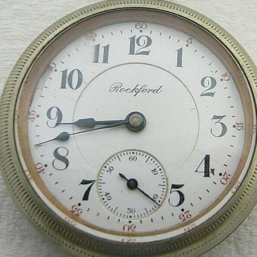Rockford Grade 938 Pocket Watch Image