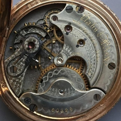 Seth Thomas Grade 508 Pocket Watch Image