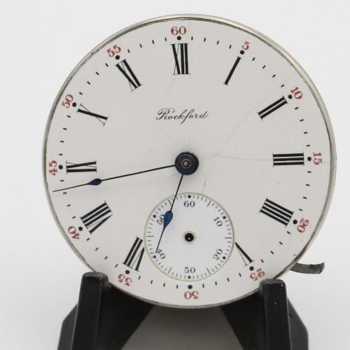 Rockford Grade 114 Pocket Watch Image