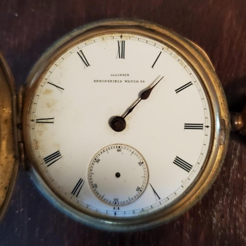 Illinois Grade Mason Pocket Watch Image