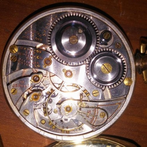 Illinois Grade 406 Pocket Watch Image