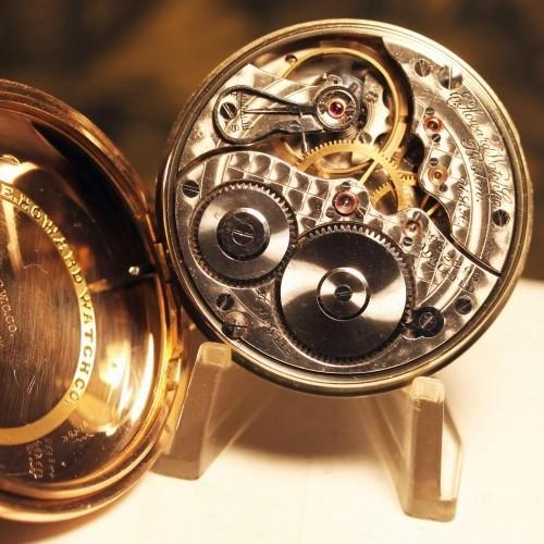 Image of E. Howard Watch Co. (Keystone) Series 4 #982293 Movement