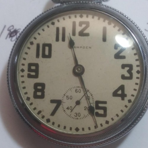 Hampden Grade No. 54 Pocket Watch Image