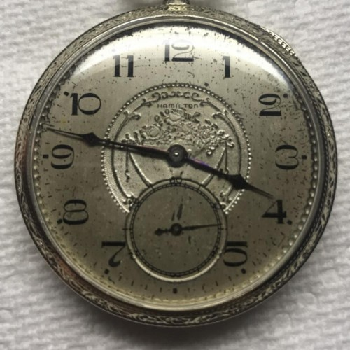Hamilton Grade 920 Pocket Watch Image