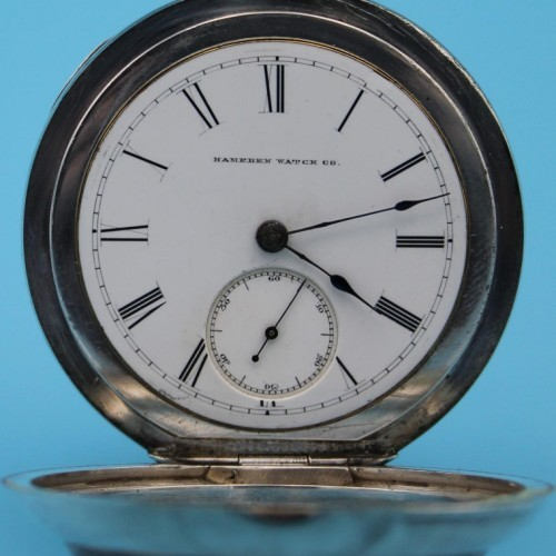 Hampden Grade Springfield Pocket Watch Image