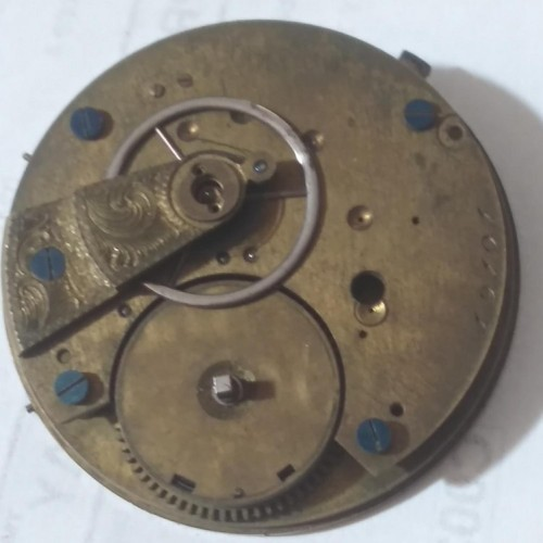 Hampden Grade Unknown Pocket Watch Image